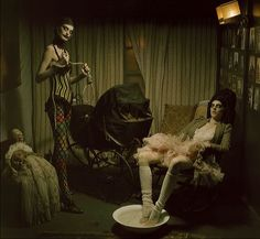 Eric Dover is one of the most respected freelance art directors. Spanish photographer Eugenio Recuenco.
