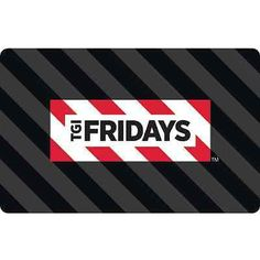 Save on a night out! Get this $50.00 TGI Friday's Gift Card for only $40.00! Plan your weekend and save on great food with this deal! Comes with free standard shipping! Check out all our eBay Deals! Check out all our Online Deals!