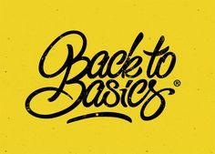 vincebold:  Back to Basics, by Bold