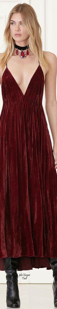 Lace-Up Knit Tunic