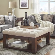 Found it at Wayfair - Back East Tufted Ottoman