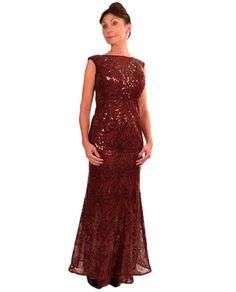 Ignite 3399 Sequin Gown $179