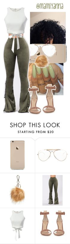 """Black Barbie~ Nicki Minaj "" by mamiyanna ❤ liked on Polyvore featuring CÉLINE, Halogen, GET LOST and Gianvito Rossi"