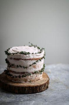 Chrsitmas'y cake//