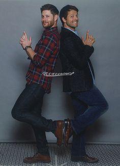 Jensen and Misha #Jibcon2015