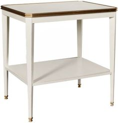 Austell Side Table Base from the Suzanne Kasler® collection by Hickory Chair Furniture Co.