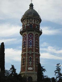 La Torre de les Aigües de Dos Rius. Barcelona España.