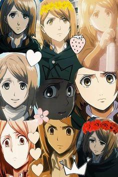 Aot Characters, Female Characters, Levi And Petra, Connie Springer, Eruri, Attack On Titan, Illusions, Cartoon, Manga