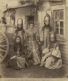 Women of Russia's Kuban region, late 19th century (by Dmitry I. Ermakov)