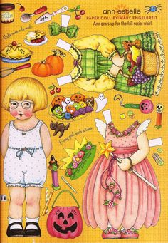 Anne Estelle by Mary Engelbreight paper doll