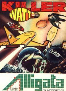 Killer Watt - C64 Cover & Box Art