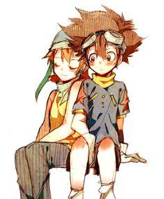 Taichi Yagami & Sora Takenouchi