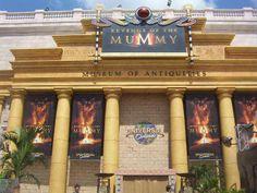 The Mummy ride - Universal Studios***