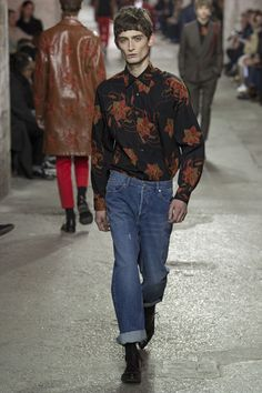 Menswear - Paris - Dries Van Noten