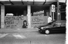 Graffits Move Car, Street Photography