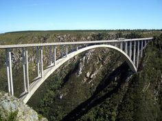 The World's Highest Bungee Jump … in South Africa Hawaii Surf, Southeast Asia, South Africa, Surfing, African, World, Places, Bridges, Beautiful