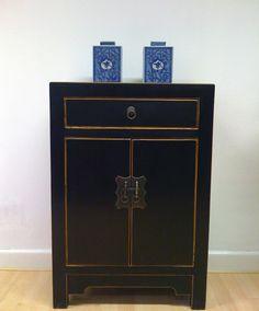 Ming Cabinet Black - Chinese Furniture