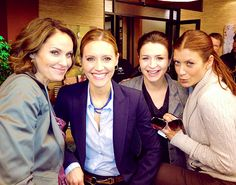 Amy Brenneman, KaDee Strickland, Caterina Scorsone and Kate Walsh - female cast…