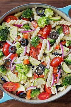Easy Summer Salad Recipes Pasta is One Of the Liked Salad Recipes Of Several Persons Round the World. Besides Easy to Produce and Good Taste, This Easy Summer Salad Recipes Pasta Also Health Indeed. Summer Pasta Salad, Summer Salads, Veggie Pasta Salads, Summer Food, Vegetable Salad, Vegetarian Pasta Salad, Caprese Pasta Salad, Food Salad, Summer Fresh