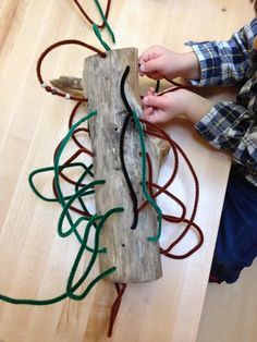 Creating Resources - I pinned this because I found it interesting as it is a Reggio based open ended sculpture. Open Ended Sculpture