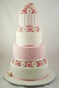 pink wedding cakes - Google Search