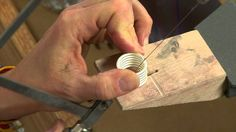 Round out your jewelry making with lessons for fast and fabulous metal rings. Join artist and experienced metalsmith Helen I. Driggs in 7 watch-and-learn les...