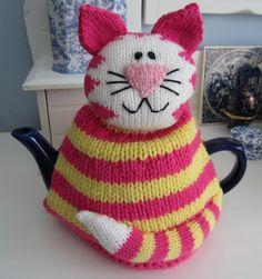 Cool tea cozy!!   -   Justjen-knits: Tea and Me - Capturing Queensland's Tea Related Memories