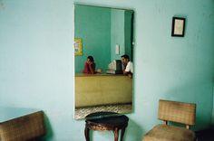 """Alex Webb. """"Inside a store, Regla"""". 2003. Havana, Cuba."""