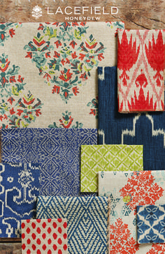 Lacefield Honeydew 2015 Textile Collection