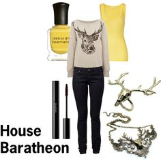 Game of Thrones - House Baratheon, created by nefatari on Polyvore