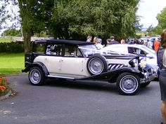 This is a special car to get you to the Church.......Smyth's Chauffeur Drive, Roscommon