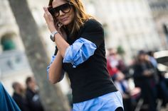 On the Streets of Paris Fashion Week Fall 2014 -