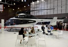 Ansat Russian Helicopters ---- HeliRussia 2014 -- http://aviakurs.com/