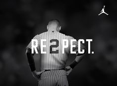 RE2PECT. Not a Sox, but an awesome person who stayed true to his self, AND baseball. RE2PECT indeed. Thank you, Jeter. You are a class act.