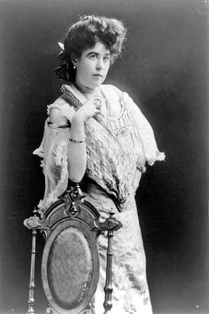 The unsinkable, Molly Brown.  Her fame as a  Titanic survivor helped her promote the issues she felt strongly about, rights of workers and women, education and literacy for children.