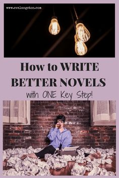 How can you write better novels with one key step? Spend more time in the prewriting stage! Here's how to use brainstorming to write better novels.