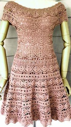 It S Wedding Season 20 Free Crochet Wedding Patterns the Crochet Wedding Dress Pattern, Crochet Wedding Dresses, Crochet Baby Dress Pattern, Crochet Summer Dresses, Black Crochet Dress, Crochet Skirts, Crochet Blouse, Crochet Clothes, Knit Dress