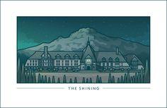 Backlot Series. The Shining by Ryan Putnam.  http://ryanputn.am/