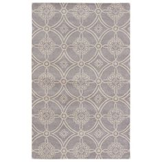 JaipurLiving Timeless Hand-Tufted Frost Gray/Fog Area Rug Rug Size: