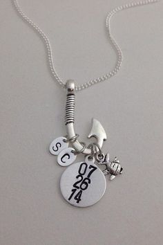 Favorite catch fish hook necklace by BulletsForBelles on Etsy #LearnToFish