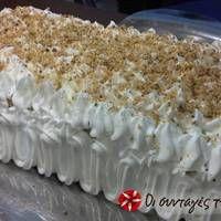 Τούρτα νουγκατίνα Krispie Treats, Rice Krispies, Vanilla Cake, Desserts, Food, Tailgate Desserts, Deserts, Eten, Postres