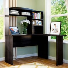 Found it at Wayfair - Hartley Computer Desk with Hutch