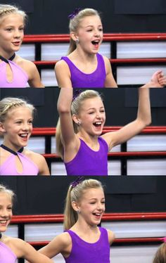 dance moms I wonder if chloe knows that her shirt is on backwards?? XD