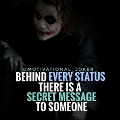 """2,133 Likes, 3 Comments - Joker (@motivational_joker_) on Instagram: """"Behind every status........ For more Motivational and Realistic Quotes Follow …"""""""