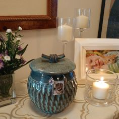 An Idea on how to display one of our pet urns. Available @ Http://Spiritpet urns.com
