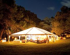 Dinner with a large group of friends outside? Looks good to me! Angelique Event Design
