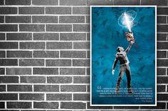 #sharknado Inspirational Motivational Movie Print by BlueBoxesEtc, €13.00