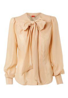 Vivienne Westwood Habotai Silk Marcelle Shirt...