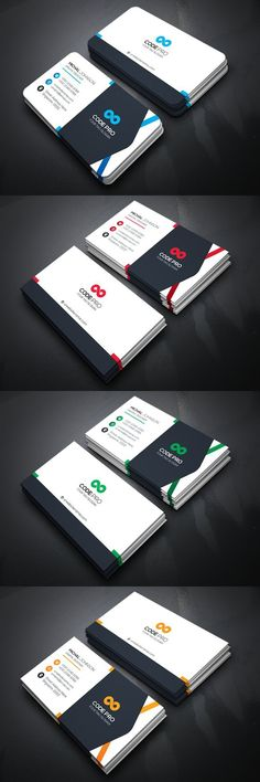 Our unique business cards designs have been created to help you make your own business cards with ease. All business cards are fully customizable and come in a Teacher Business Cards, Metal Business Cards, Business Card Psd, Elegant Business Cards, Custom Business Cards, Business Card Design, Creative Business, Letterhead Design, Brochure Design