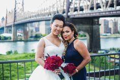 Multicultural Wedding on a Rooftop in Long Island City, Queens: Sylvia + Jay